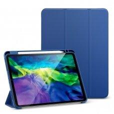 Dėklas ESR Rebound Pencil Apple iPad Pro 11 2018/2020 tamsiai mėlynas