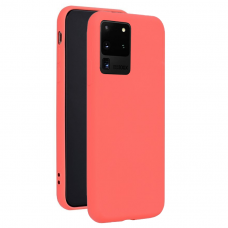 Dėklas Forcell Silicone Lite Samsung G988 S20 Ultra Rožinis
