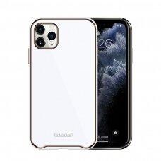 Dėklas Glass Case Apple iPhone 11 baltas