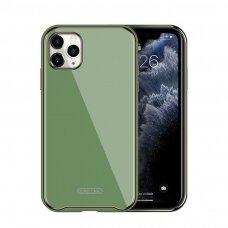 Dėklas Glass Case Apple iPhone 11 šviesiai žalias