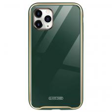 Dėklas Glass Case Apple iPhone 11 tamsiai žalias