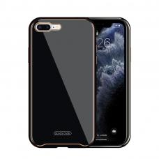 Dėklas Glass Case Apple iPhone 7/8/SE2 juodas