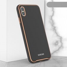 Dėklas Glass Case Apple iPhone XR juodas
