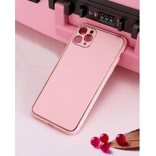 Dėklas Gold Line Apple iPhone 11 rožinis