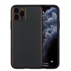 Dėklas Gold Line Apple iPhone X/XS juodas