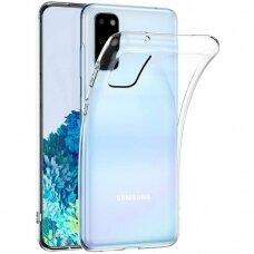 Dėklas High Clear 1,0Mm Samsung G981 S20/S11E Skaidrus