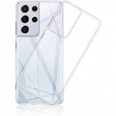 Dėklas High Clear 1,0mm Samsung S21 Ultra/S30 Ultra