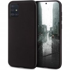 Dėklas Liquid Silicone 1.5 Mm Samsung A515 A51 Juodas
