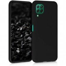 Dėklas Liquid Silicone 1.5mm Huawei P40 Lite juodas UCS068