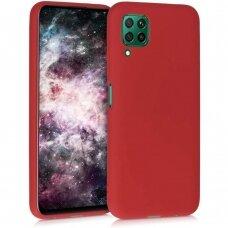 Dėklas Liquid Silicone 1.5mm Huawei P40 Lite raudonas UCS068