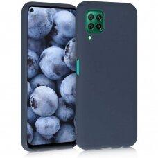 Dėklas Liquid Silicone 1.5mm Huawei P40 Lite tamsiai mėlynas UCS068