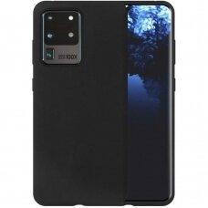 Dėklas Liquid Silicone 1.5Mm Samsung G988 S20 Ultra/S11 Plus Juodas