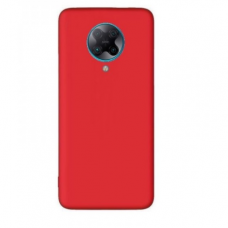Dėklas Liquid Silicone 1.5mm Xiaomi Poco F2 Pro/Redmi K30 Pro/K30 Pro Zoom raudonas UCS108