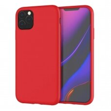 Dėklas Liquid Silicone 2.0mm Apple iPhone 11 Pro Max raudonas USC056