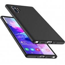 Dėklas Liquid Silicone 2.0Mm Samsung N975 Note 10 Plus Juodas