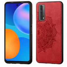 Dėklas Mandala Huawei P Smart 2021 Raudonas