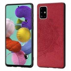 Dėklas Mandala Samsung A515 A51 Raudonas