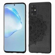 Dėklas Mandala Samsung G986 S20 Plus/S11 Juodas