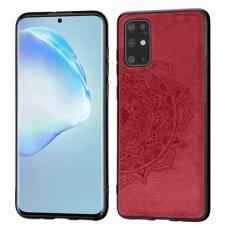 Dėklas Mandala Samsung G986 S20 Plus/S11 Raudonas