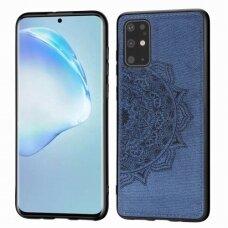 Dėklas Mandala Samsung G986 S20 Plus/S11 Tamsiai Mėlynas