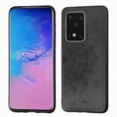 Dėklas Mandala Samsung G988 S20 Ultra/S11 Plus Juodas