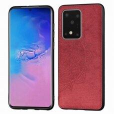 Dėklas Mandala Samsung G988 S20 Ultra/S11 Plus Raudonas