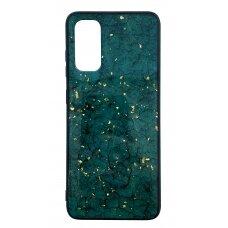 Dėklas Marble Samsung G981 S20/S11e žalias UCS003
