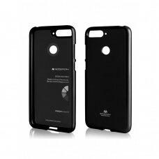 Dėklas Mercury Jelly Case Huawei Y6 2018 juodas UCS099