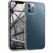 Dėklas Mercury Jelly Clear Apple Iphone 12/12 Pro Skaidrus
