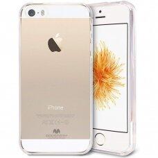 Dėklas Mercury Jelly Clear Apple iPhone 5G/5S skaidrus UCS066