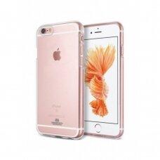 Dėklas Mercury Jelly Clear Apple Iphone 6 Plus/6S Plus Skaidrus