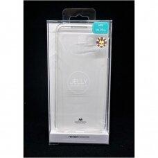 Dėklas Mercury Jelly Clear Samsung J415 J4 Plus 2018 skaidrus UCS051