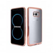Dėklas Mercury Ring 2 Samsung G950 S8 rožinis-auksinis UCS010