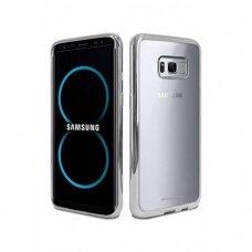 Dėklas Mercury Ring 2 Samsung G950 S8 sidabrinis UCS010