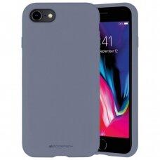 Dėklas Mercury Silicone Case Apple iPhone 7/8/SE2 levandos pilka UCS062