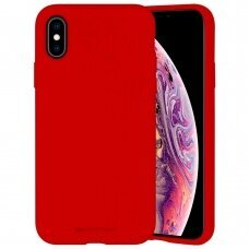 Dėklas Mercury Silicone Case Apple iPhone X/XS raudonas USC060