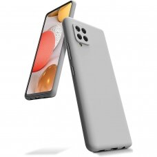 Dėklas Mercury Silicone Case Samsung A426 A42 akmens spalvos
