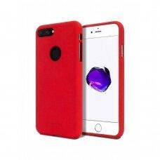 Dėklas Mercury Soft Jelly Case (Hole) Apple Iphone 7 Plus/8 Plus Raudonas