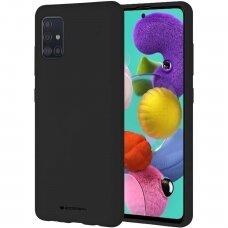 Dėklas Mercury Soft Jelly Case Samsung A03s juodas