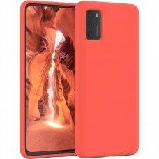 Dėklas Mercury Soft Jelly Case Samsung A03s raudonas