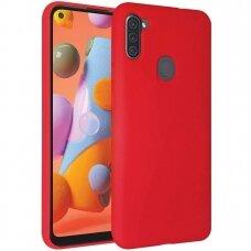 Dėklas Mercury Soft Jelly Case Samsung A11 raudonas UCS028