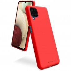 Dėklas Mercury Soft Jelly Case Samsung A125 A12 raudonas