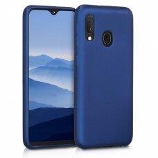 Dėklas Mercury Soft Jelly Case Samsung A202 A20e tamsiai mėlynas UCS033