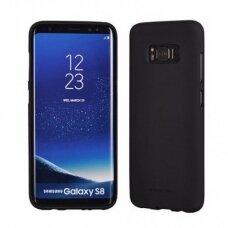 Dėklas Mercury Soft Jelly Case Samsung G950 S8 Juodas