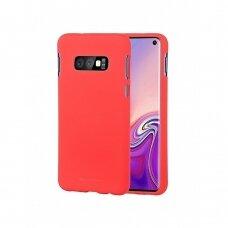 Dėklas Mercury Soft Jelly Case Samsung G970 S10E Raudonas
