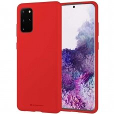 Dėklas Mercury Soft Jelly Case Samsung G986 S20 Plus Raudonas