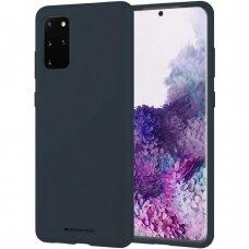 Dėklas Mercury Soft Jelly Case Samsung G986 S20 Plus Tamsiai Mėlynas