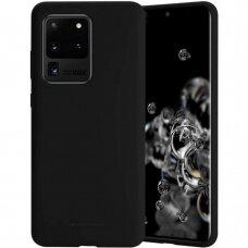 Dėklas Mercury Soft Jelly Case Samsung G988 S20 Ultra Juodas