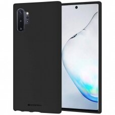 Dėklas Mercury Soft Jelly Case Samsung N975 Note 10 Plus juodas UCS019