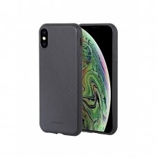 Dėklas Mercury Style Lux Apple iPhone XS Max juodas UCS059